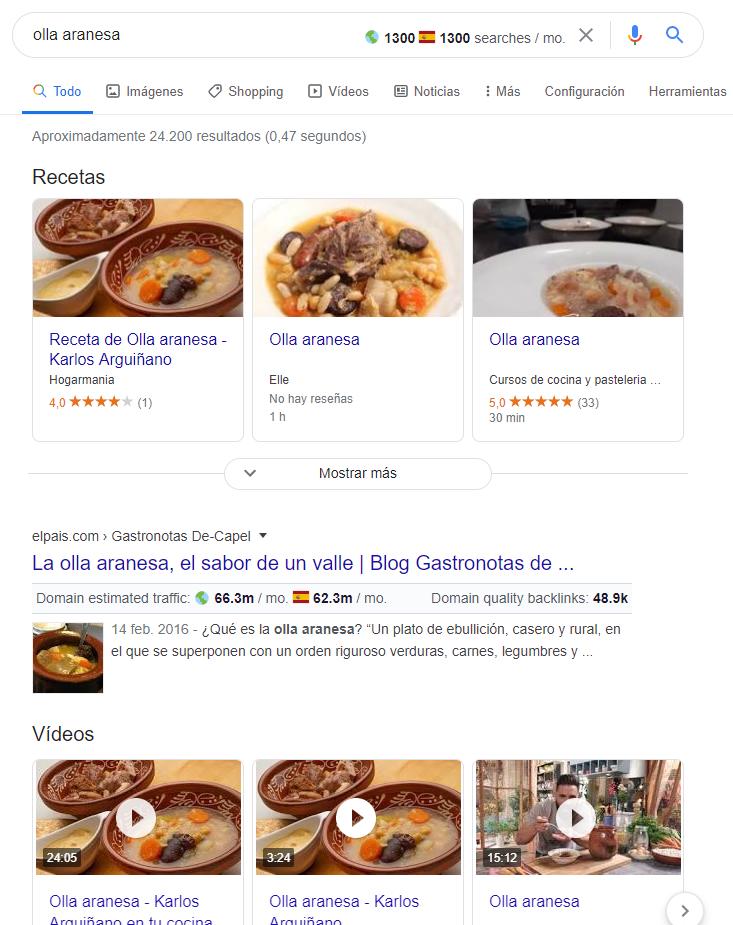 Datos estructurados para SEO en Google
