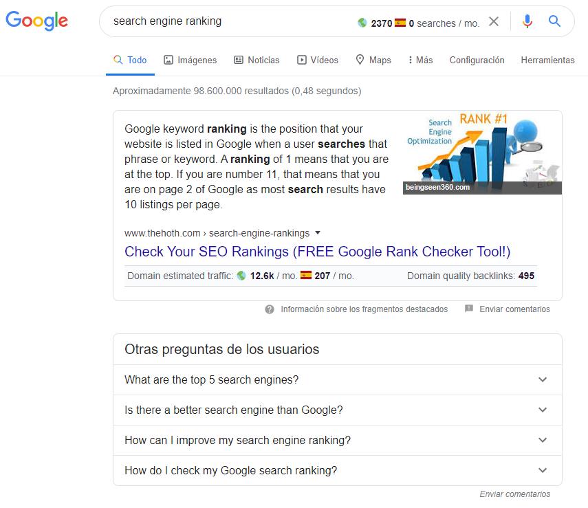 Estudios realizados sobre el funcionamiento del algoritmo de Google